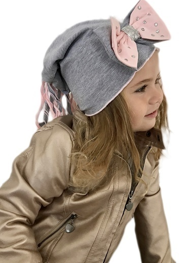Baby Giz Şapka Gri